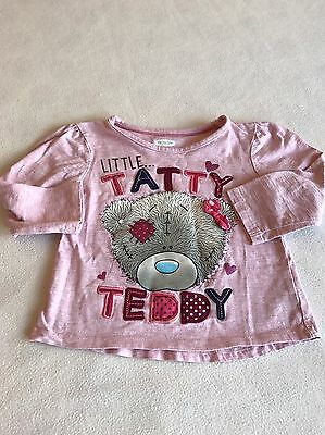 Girls Clothes 2-3 Years - Cute  Tatty Teddy T-shirt Top