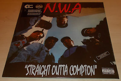 N.w.a.-Straight Outta Compton-2013 Vinyl Lp+Download-Dr. Dre-New & Sealed