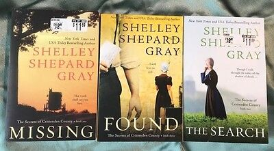 Lot Of 3 Amish Books-Shelley Shepard Gray (Secrets Of Crittenden County)#1, 2,3