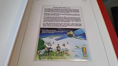 Pitcairn Islands 2000 Sg Ms581 Expo 2000 Stamp Exn Mnh