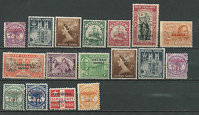 Samoa small collection mostly pre-1950 MH