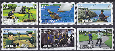 Guernsey 2007 Europa - Centenary of Scouting Set UM SG1142-7 Cat £6.75