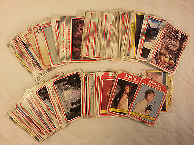 1980 Scanlens Star Wars Empire Strikes Back ESB cards – PICK ANY 5 CARDS ONLY