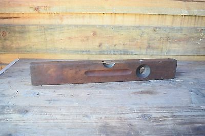 Antique  Stanley No 00 22 Inch Sweet Heart Level Woodworking Old Tool
