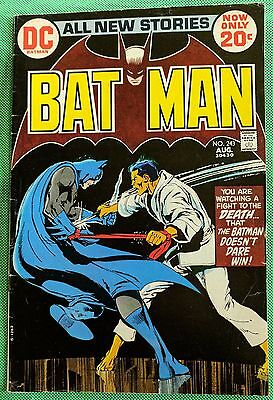 BATMAN (1940) #243 FN (6.0)  Neal Adams cover & art