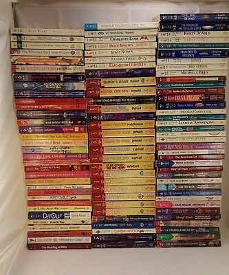 Huge Lot Of 100 Harlequin Romance Series Books Paperback