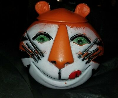 Vintage 1968 Tony the Tiger Original Cookie Jar Kellogg's Sugar Frosted Flakes