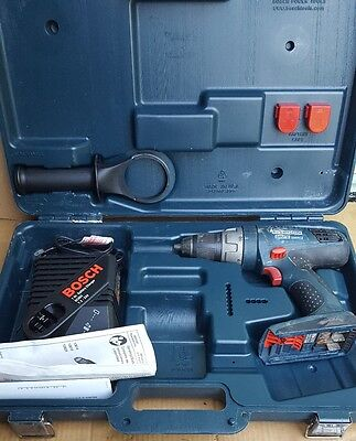 Bosch hammer drill 18v case charger handle 13618 cordless tool no battery bundle