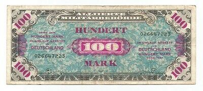 Germany 100 mark Allied Military Currency 1944 P-197a (B168)