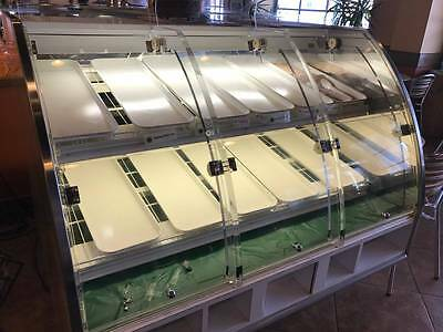 deli / bakery self-serve dry display case  p/u York, PA -Make offer!