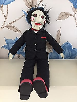 NECA Saw Plush Doll With Sounds 18+ Needs Batteries Still Tagged L@@K