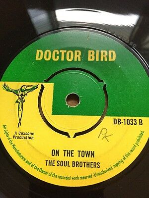"""Original Uk Doctor Bird """" The Soul Brothers"""" On The Town"""""""
