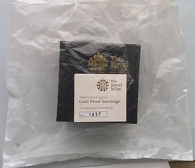 2008 Gold Proof Full Sovereign... Royal Mint Sealed.