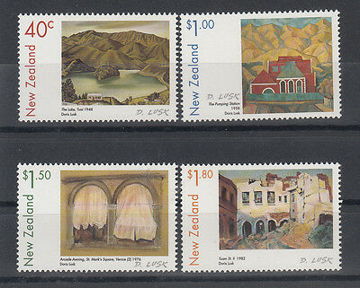 New Zealand 1999 Paintings set of 4 stamps .SG 2268/2271.MUH/MNH