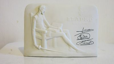 LLADRO COLLECTORS SOCIETY DON QUIXOTE PLAQUE 7601. In excellent condition.