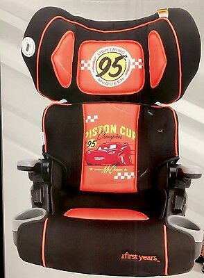 New Cars 3 The First Year Ultra Plus Folding Car Booster Seat 4-8 years Mcqueen