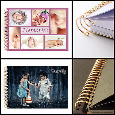 Personalised Scrapbook - Custom Photo Cover in A4 and A5