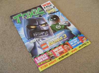 Toxic Magazine (July 2014) With Games Puzzles & Large Lego Batman 3 Poster