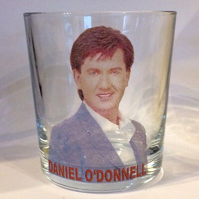DANIEL O'DONNELL FRUIT JUICE/WHISKY GLASS mixer glass