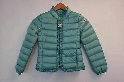 Moncler Kids Down Filed Jacket / Coat In Blue, Size 8 Years  VGC
