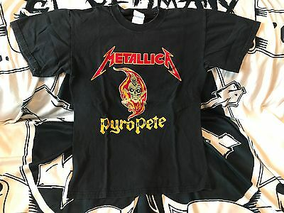 "Metallica ""Pyro Pete"" Crew Shirt"
