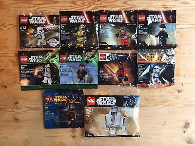 Lego Star Wars Polybag Bundle (Minifigures)