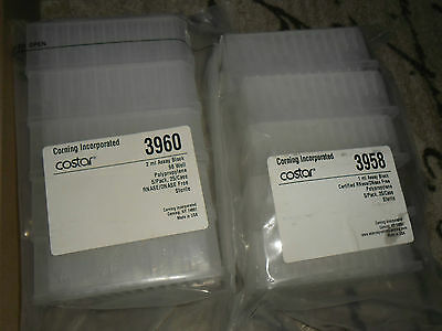 Lot of 60 Corning Microplates 3673, 3958, 3960