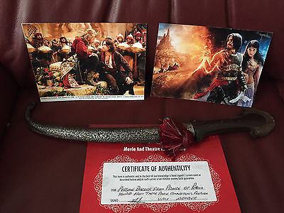 Prince of Persia - PROP - Persian Dagger - With COA