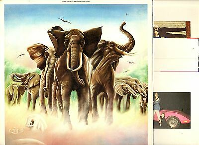ELVIS COSTELLO armed forces (1st uk press with 4 postcards) LP EX-/EX RAD 14