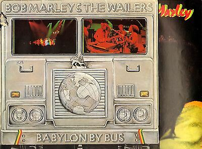 BOB MARLEY AND THE WAILERS babylon by bus (1st uk with poster) DOUBLE LP EX/VG