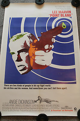 Point Blank (Original 1967 Us One Sheet Poster - Linenbacked)