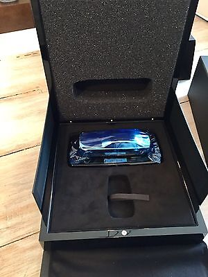 Piano Black Rolls Royce Presentation Key Box Silver Ghost Model Brand New OEM