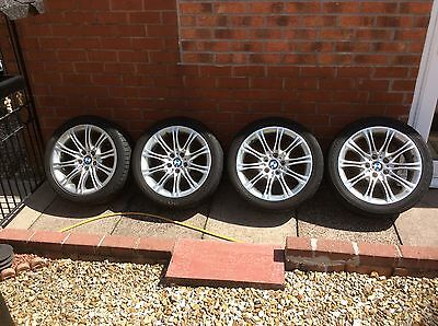 Bmw 5 Series M Sport Alloy Wheels With Tyres (X4)!