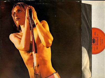 IGGY AND THE STOOGES raw power (1st uk press with inner) LP EX-/VG 65586 punk