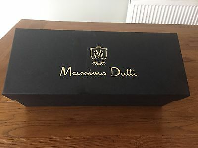 """ Massimo Dutti"" Gift Box With Dust Bag And Tissue Paper"