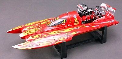 """Bad Ass """" Nitro Chicken """" THF Drag Boat. Extreme Detail. Discontinued."""