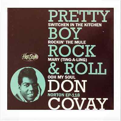 "DON COVAY EP ""SWITCHEN IN THE KITCHEN"" AWESOME 50s BLACK ROCKERS  ♪♪LISTEN ♪♪"