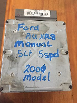 ford au xr8 v8 5speed manual computer 2001