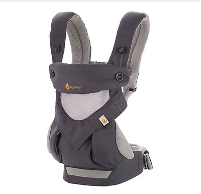 New Ergo 360 Baby Four Position carrier Dusty gray
