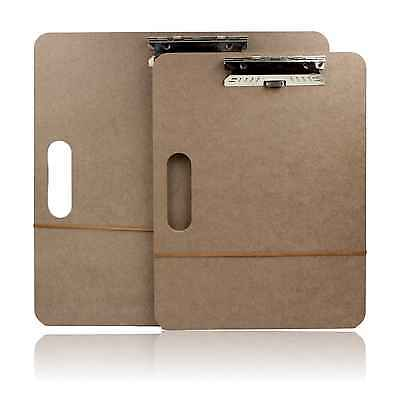 """18"""" 17"""" A3 Wooden Artists Drawing Sketching Board Portable Easel Clipboard"""