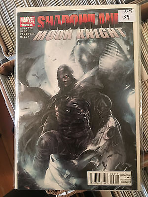 SHADOWLAND MOON KNIGHT #2 NM 1st Print FRANCESCO MATTINA COVER