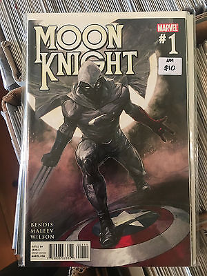 MOON KNIGHT #1 NM 1st Print Alex Maleev Brian Michael Bendis
