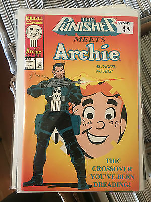 THE PUNISHER MEETS ARCHIE #1 VF/NM 1st Print comic