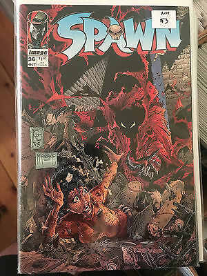 SPAWN #36 NM 1st Print Todd McFarlane    Combined Shipping Rates