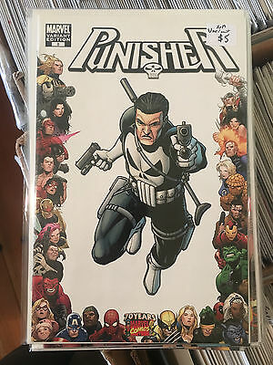 PUNISHER #8 NM 1st Print STEVE DILLON VARIANT