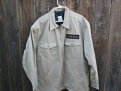 THE THIN RED LINE Vintage WWII Film Crew Jacket TERRENCE MALICK SEAN PENN