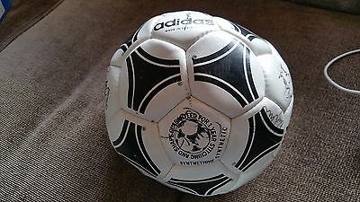 Adidas Tango TOLKA PARK - FULHAM FOOTBALL CLUB SIGNED   vintage football Rare