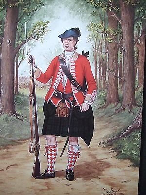 Pte 42Nd Or Royal Highland Regt Fort Ticonderoga 1758 By Bryan Fosten