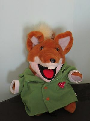Talking Basil Brush Soft Plush Hand/Glove Puppet toy. 10 inches high