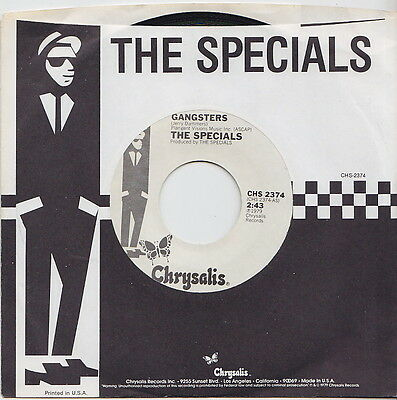 The SPECIALS * SELECTER * Gangsters * 2TONE SKA MOD SKINHEAD * US 45 *